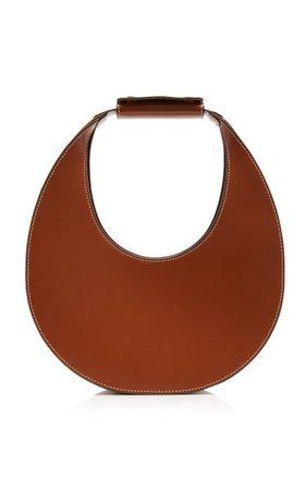 Moon Leather Top Handle Bag By Staud | Moda Operandi