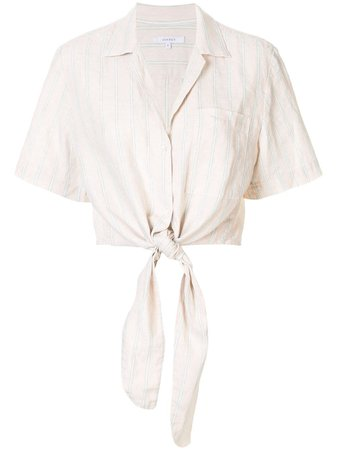 Brown Venroy Summer Stripe Shirt For Women | Farfetch.com