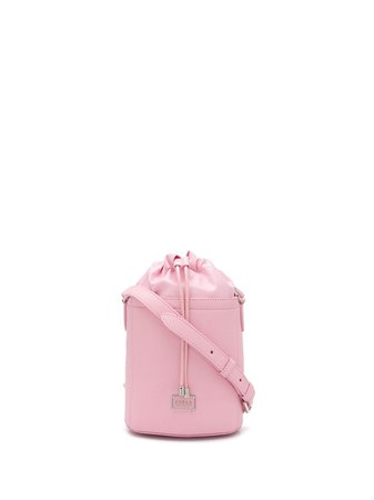 Furla Drawstring Bucket Bag 1056537 Pink | Farfetch