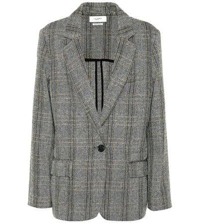 Charly Checked Wool Blazer   Isabel Marant, Étoile - mytheresa