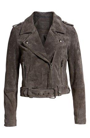 BLANKNYC Morning Suede Moto Jacket   Nordstrom