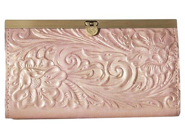 Patricia Nash - Cauchy (Pink Metallic) Clutch Handbags