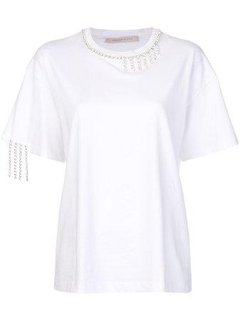 Christopher Kane Crystal t-shirt - Farfetch