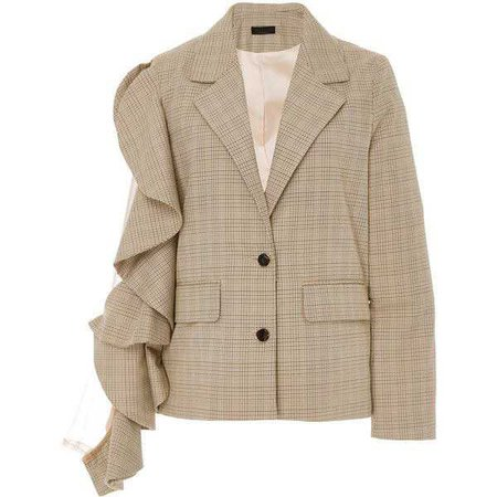 Maki Oh Ruffle Sleeve Jacket ($1,125)