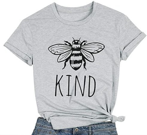Be Kind T Shirts Women Funny Inspirational Teacher Fall Tees Tops Cute Graphic Blessed Shirt Blouse Green at Amazon Women's Clothing store