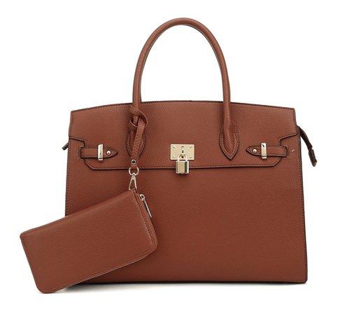 amazon brown purse