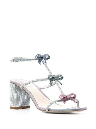 René Caovilla Caterina crystal-embellished Sandals - Farfetch