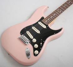 pinterest pink guitar