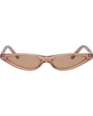 George Keburia Brown Micro Cat-Eye Sunglasses