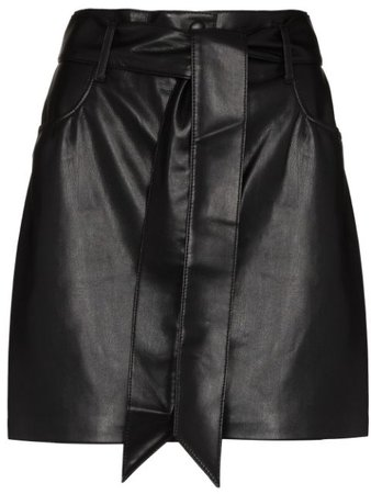 Nanushka faux-leather Mini Skirt - Farfetch