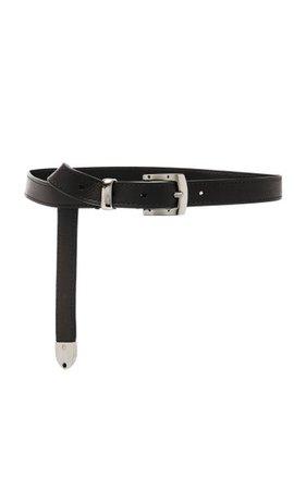 Skinny Leather Belt By Brandon Maxwell   Moda Operandi