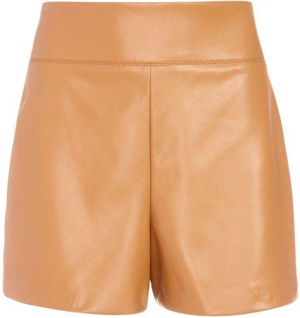Donald Vegan Leather Short