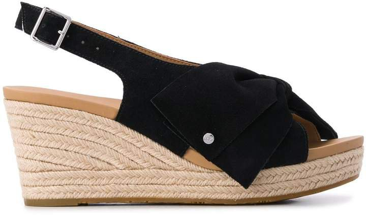 Ysidra jute wedge sandals