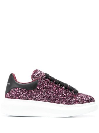 Alexander McQueen Baskets Oversized à Sequins - Farfetch