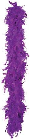 Boland - Boa de pluma para disfraz, 180 cm, color púrpura (52708): Amazon.es: Juguetes y juegos