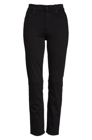 MOTHER The Dazzler Ankle Straight Leg Jeans (Not Guilty) | Nordstrom