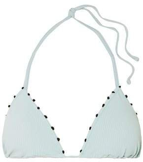 St Tropez Knotted Triangle Bikini Top