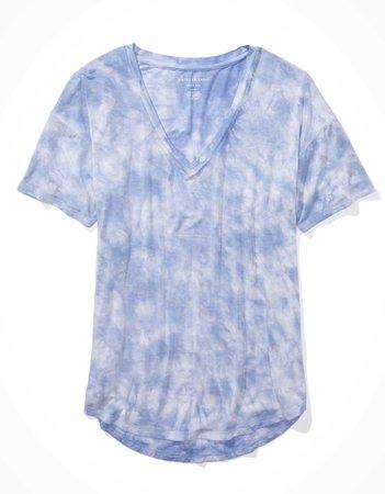 AE V-Neck T-Shirt blue