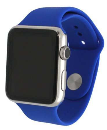 Olivia Pratt Solid Silicone Band for Apple Watch 38mm & Reviews - Watches - Jewelry & Watches - Macy's