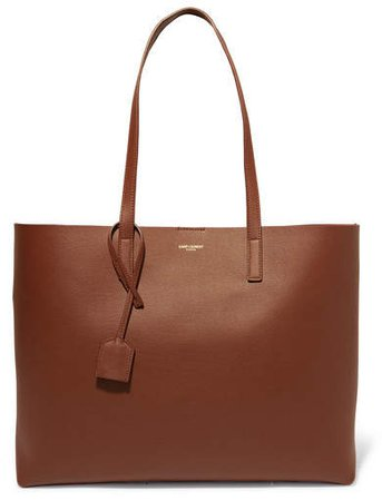 Shopper Leather Tote - Tan