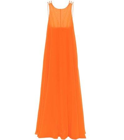 Halpern - Georgette gown | Mytheresa