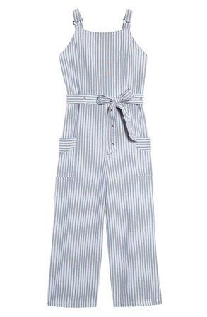 bebe Stripe Jumpsuit | Nordstrom