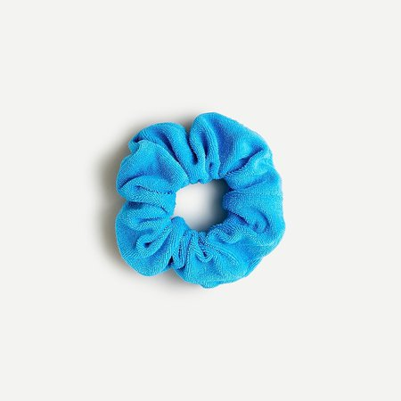 J.Crew: Wide Terry Scrunchie For Women