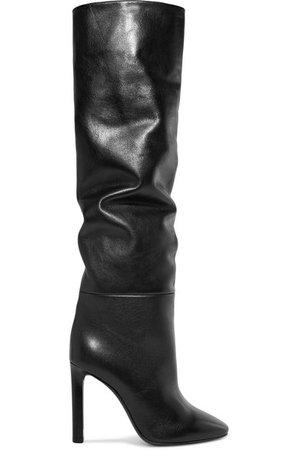 Saint Laurent   Kate leather knee boots   NET-A-PORTER.COM