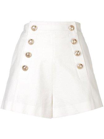 Shop white Derek Lam 10 Crosby Sailor Short with Afterpay - Farfetch Australia