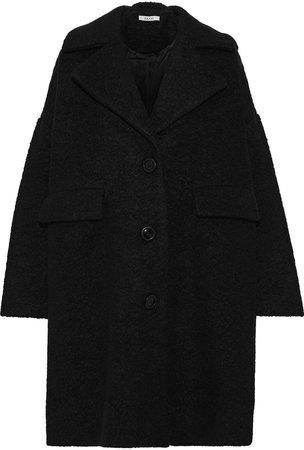 Wool-blend Boucle Coat