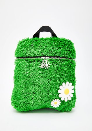Delias Green Grass Turf Mini Backpack | Dolls Kill