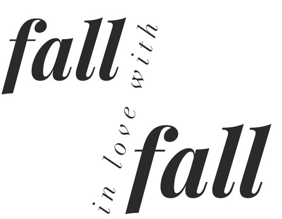 background fall quote