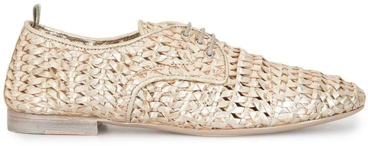 Lila woven oxford shoes