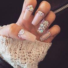 Princess nails | Stiletto Nails | Pinterest | Nail nail, Makeup and Dope nails