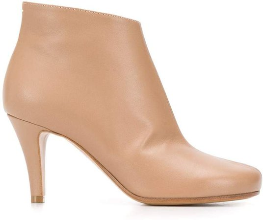 Nappa leather 80mm ankle boots
