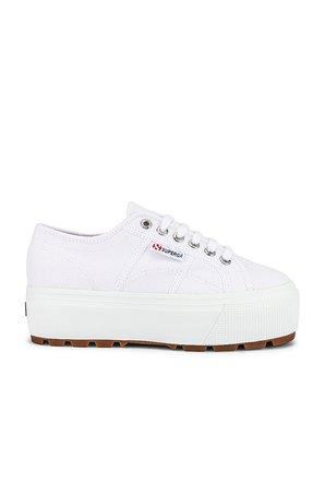 Superga 2790 TANK COTW Sneaker in White | REVOLVE