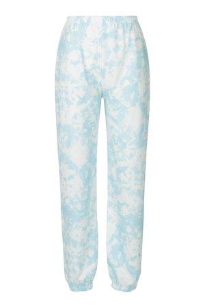 Pastel Tie Dye Lightweight Joggers | boohoo