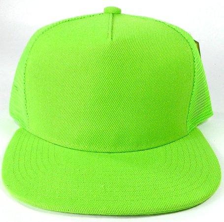 Green Snapback Cap