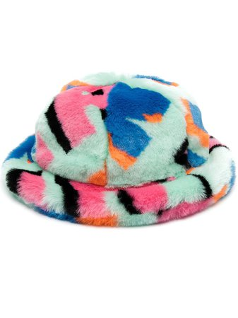 Kirin Faux Fur Cloche Hat - Farfetch