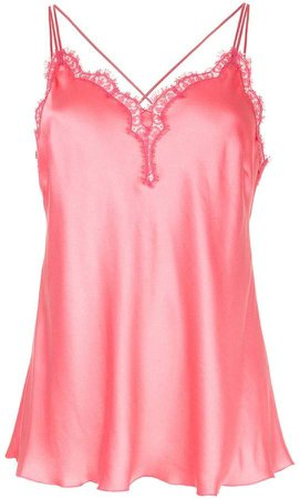 lace-detail camisole top