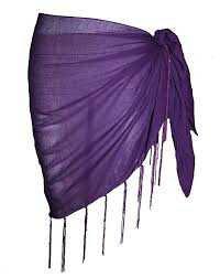 Purple Sarong