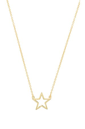The Star Cut Out Necklace