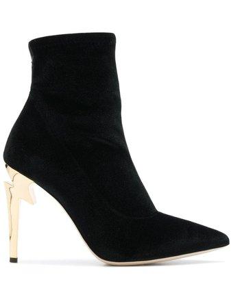 Giuseppe Zanotti G-Heel Booties I870011001 Black | Farfetch
