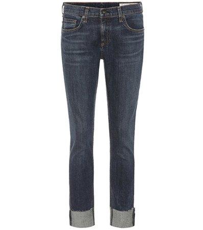 Dre mid-rise jeans