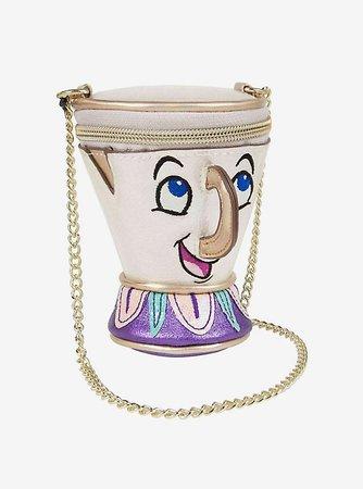 Danielle Nicole Disney Beauty And The Beast Chip Crossbody Bag