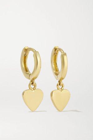 Gold 18-karat gold hoop earrings | Jennifer Meyer | NET-A-PORTER