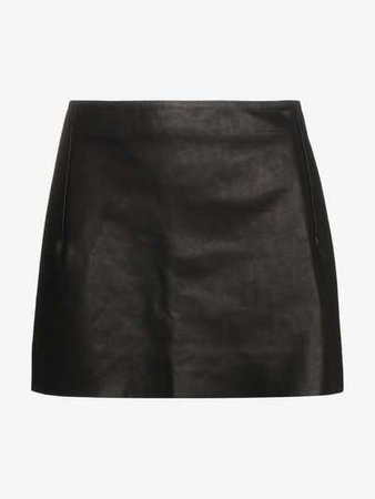 Vetements leather mini skirt | Fitted Skirts | Browns