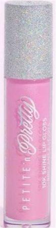 pink lip gloss (Gia pink) Petite and Pretty