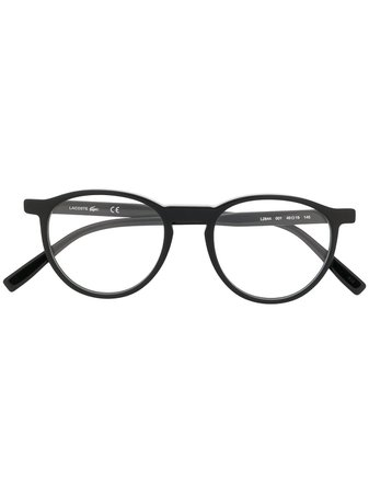 Lacoste Round Frame Glasses - Farfetch