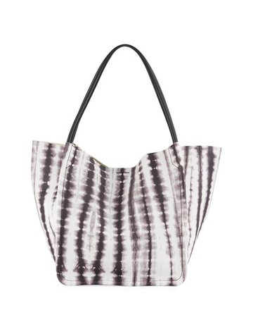 Proenza Schouler 15th Anniversary Large Tie-Dye Leather Tote Bag